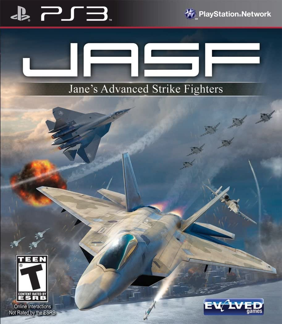 Amazon.com: Jane\'s Advance Strike Fighters - Playstation 3: Video Games
