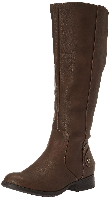 LifeStride Women's Xandy Riding Boot B01DV97M4S 9.5 W US|Dark Tan