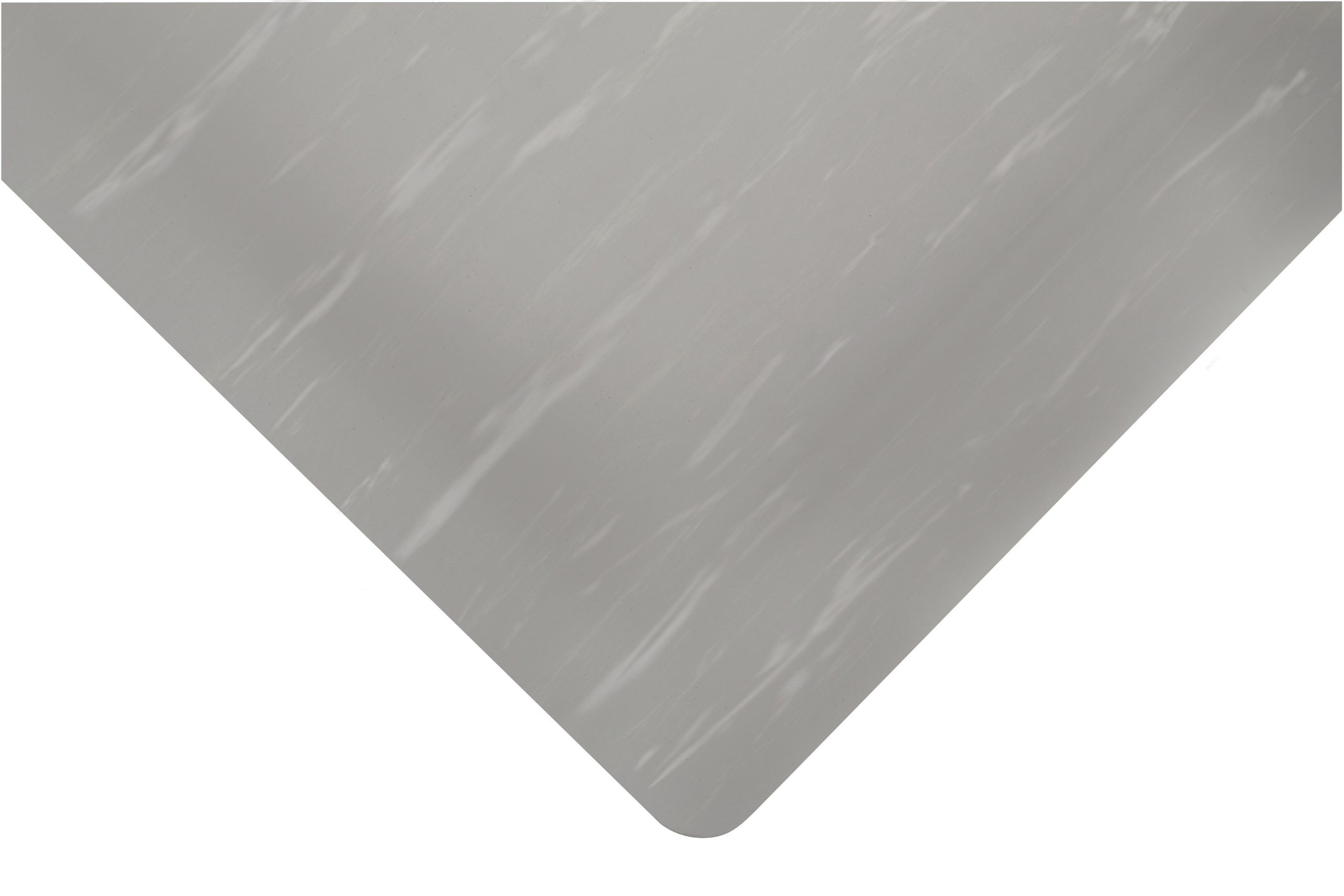 NoTrax 511 Vinyl Marble Tuff Anti-Fatigue Floor Mat, 3' Width x 5' Length x 1/2'' Thickness, Gray