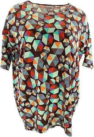 933aacf9b61 Lularoe Irma (XS) (Multicolored Patterns on Black) at Amazon Women s  Clothing store