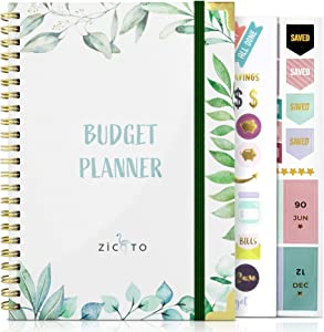 Simplified Monthly Budget Planner - Easy Use 12 Month Financial Organizer with Expense Tracker Notebook - The 2021 Monthly Money Budgeting Book That Manages Your Finances Effectively