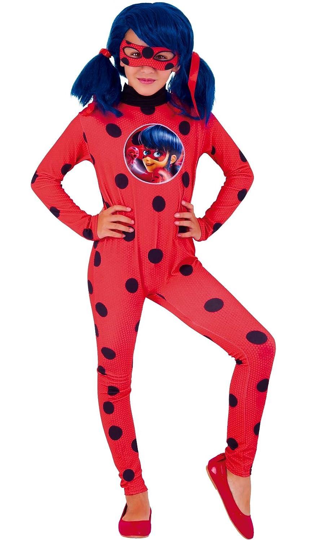 Ladybug Disfraz Miraculous, L (RubieS Spain 640588-L): Amazon.es: Juguetes y juegos