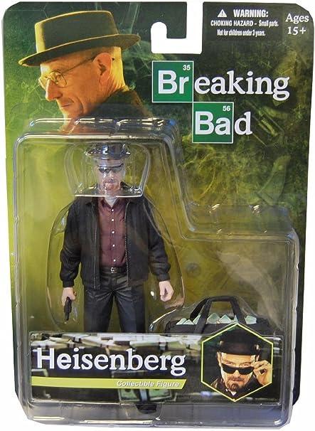 "NEW AMC Breaking Bad Walter White 6/"" Yellow Hazmat Suit Meth Action Figure Mezco"