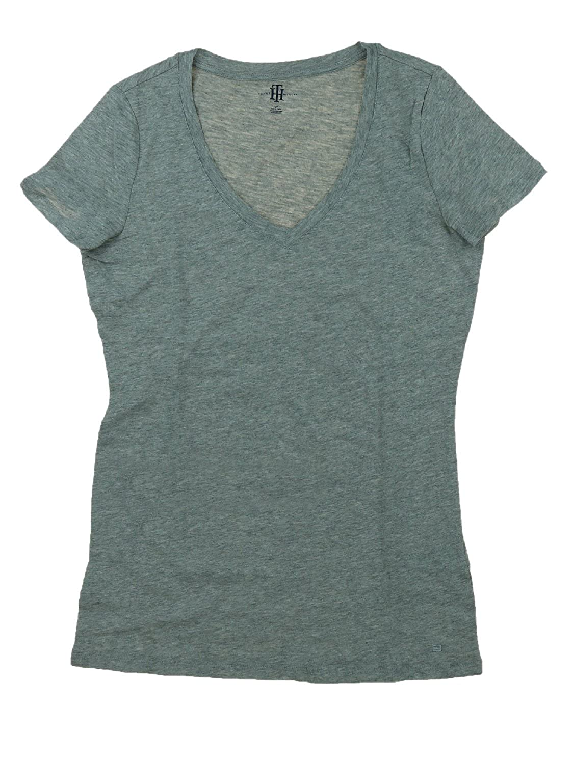 bd16ee04 Amazon.com: Tommy Hilfiger Womens Short Sleeve V-Neck Tee: Clothing