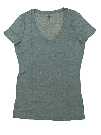 41add143d Amazon.com  Tommy Hilfiger Womens Short Sleeve V-Neck Tee  Clothing