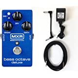 Jim Dunlop M288 Bass Octave Pedal Deluxe + Power adapter and cables!