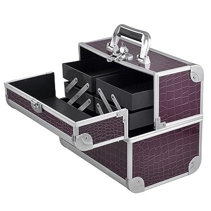 fd1a85128 Beyondfashion Premium Esteticista de aluminio, peluquería, maquillaje,  tecnología de uñas, estuches. Cajas y carritos de tocador para joyería, ...