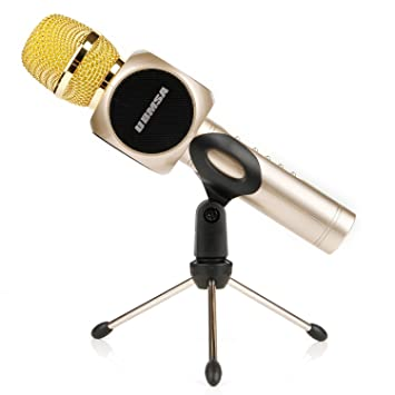 UBMSA Wireless Karaoke Microphone, Handheld Bluetooth