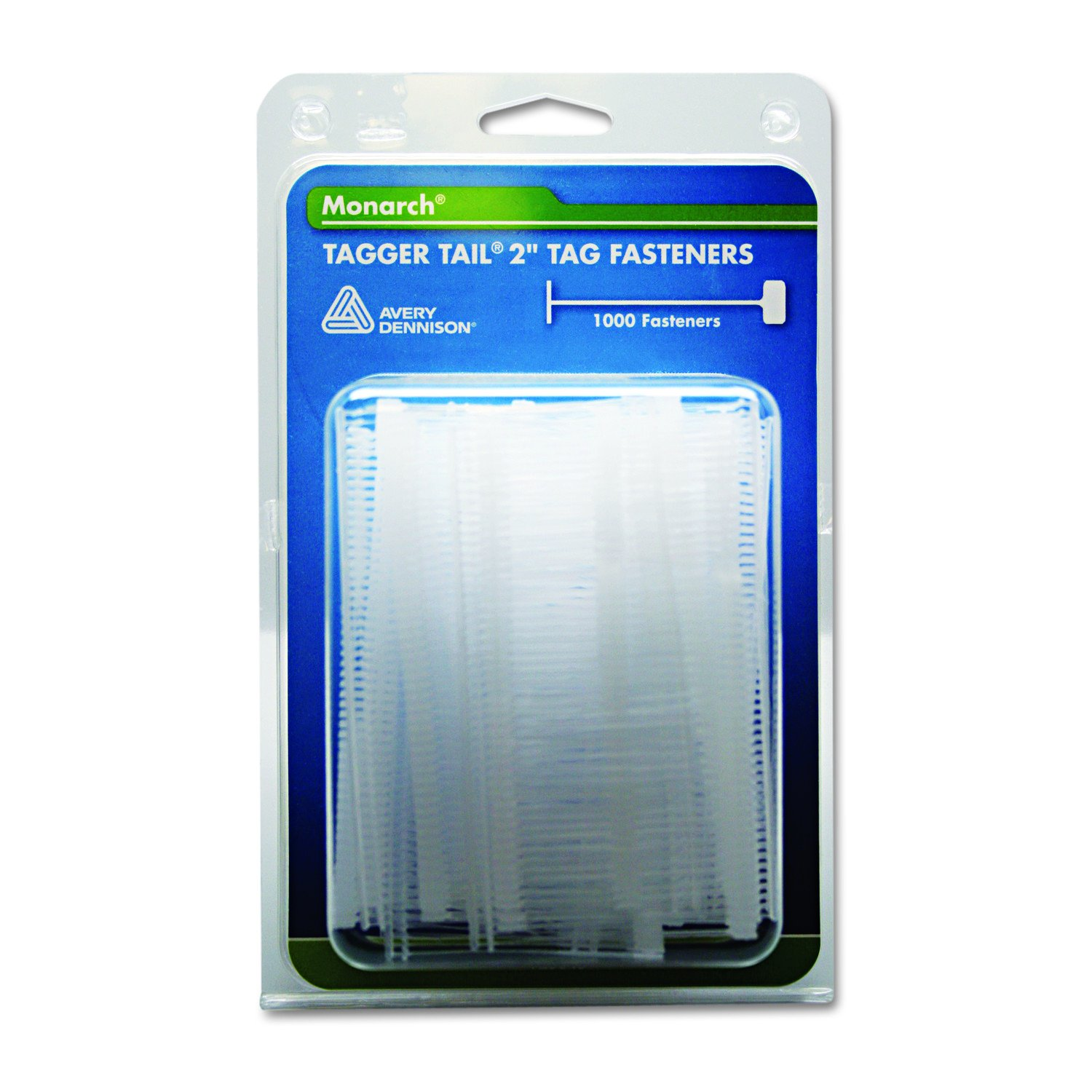 Monarch 925045 Tagger Tail 2'' Tag Fasteners for SG Tag Attacher Kit (Pack of 1,000)