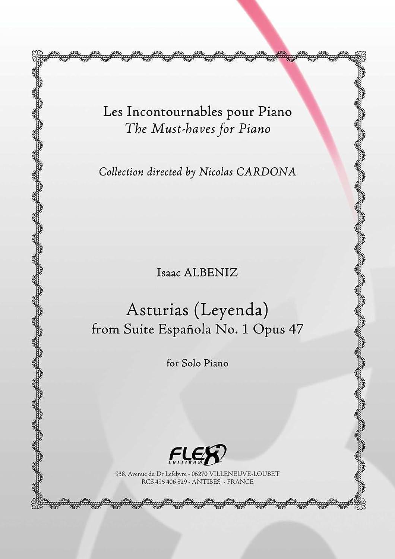 PARTITURA CLASICA - Asturias - I. ALBENIZ - Solo Piano: ALBENIZ ...