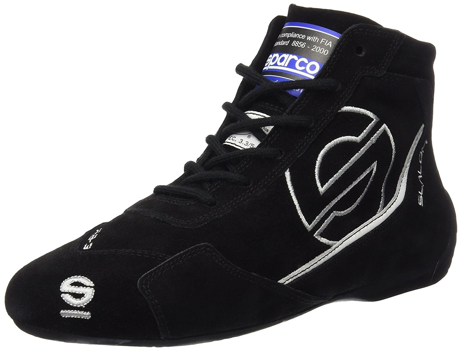 Sparco Slalom RB-3 Racing Shoes 01235 Size 39, Red