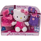 Jemini - 022676 - Peluche - Hello Kitty  Dressing - 20 Cm