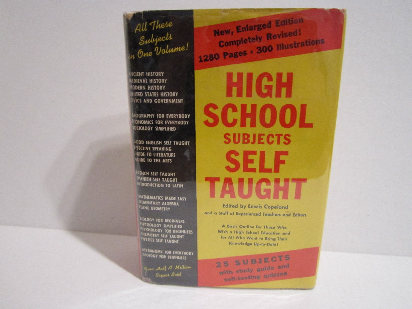 amazon high school subjects self taught lewis copeland education