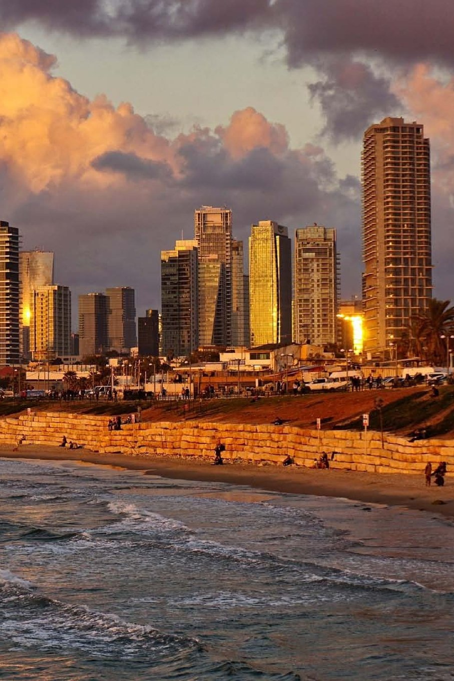 """Read Online Tel Aviv Israel at Sunset Journal: 150 lined pages, softcover, 6"""" x 9"""" pdf"""