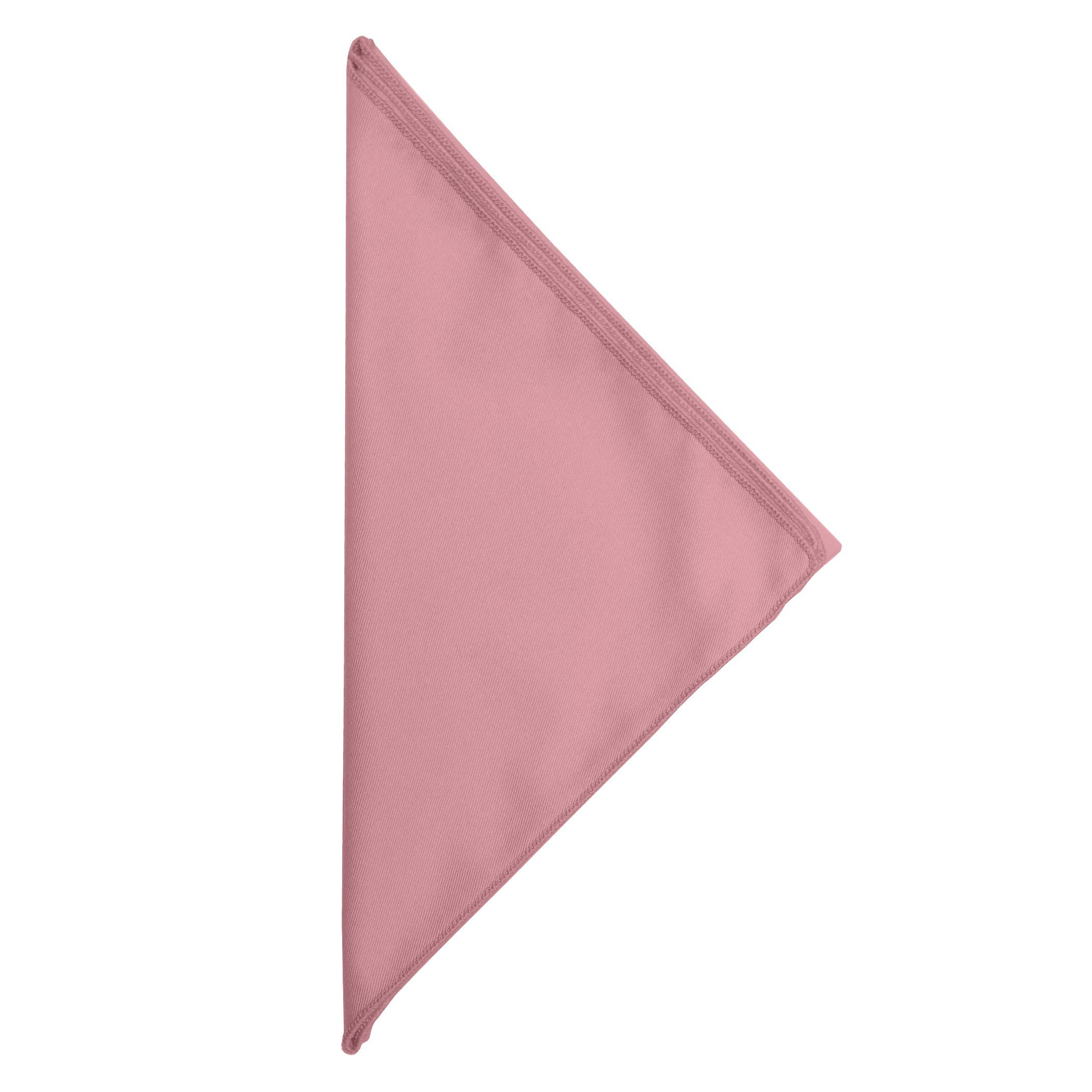 Ultimate Textile -5 Dozen- Poly-Cotton Twill 10 x 10-Inch Cloth Cocktail Napkins, Dusty Rose Pink by Ultimate Textile