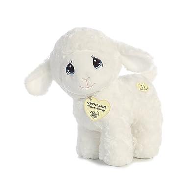 """Aurora - Precious Moments - 10"""" Luffie Lamb Musical: Toys & Games"""