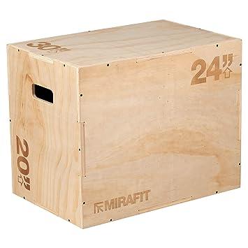 Mirafit 3in1 Wooden Plyo Jump Box - 30\