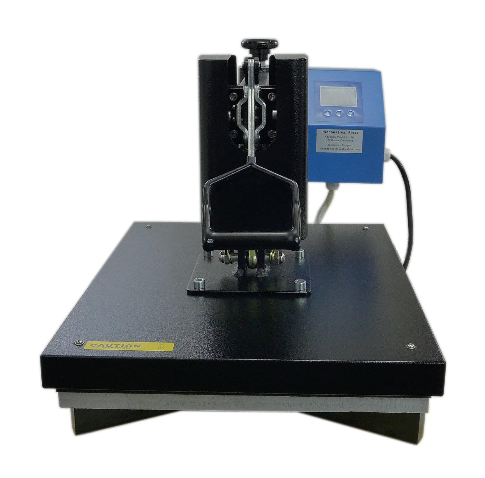 Rincons 20''x16'' Swing Arm Heat Press Machine - Heat Transfer Press Machine by Rincons Heat Press