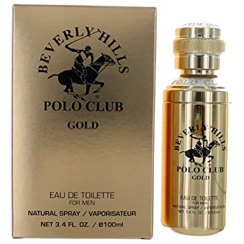 Beverly Hills Polo Club Gold 3.4oz EDT Spray men
