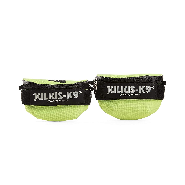 Julius-K9 1621IDC-NE-K IDC Universal side bags Pair, Mini, Neon