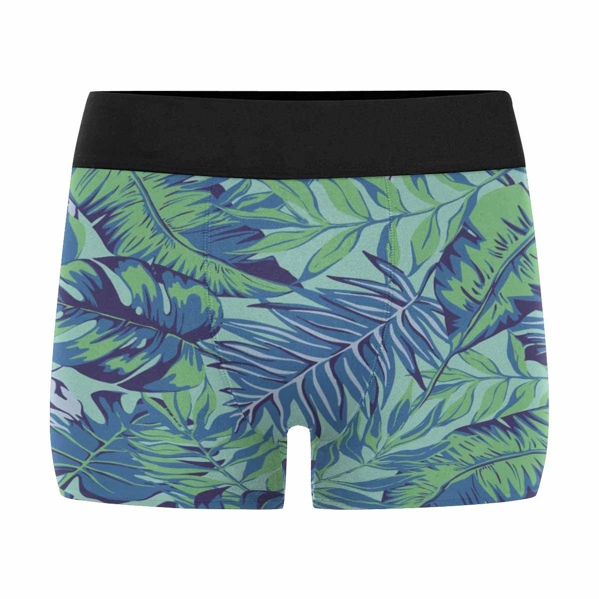 INTERESTPRINT Mens Boxer Briefs Underwear Graphical Artistic Hand Drawn Topical Pattern XS-3XL