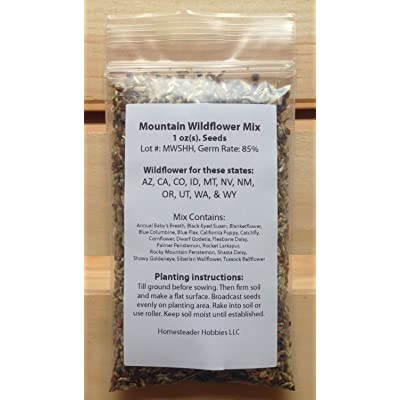 New Mexico Wildflower Seed Mix, 1 Ounce : Garden & Outdoor [5Bkhe1304538]
