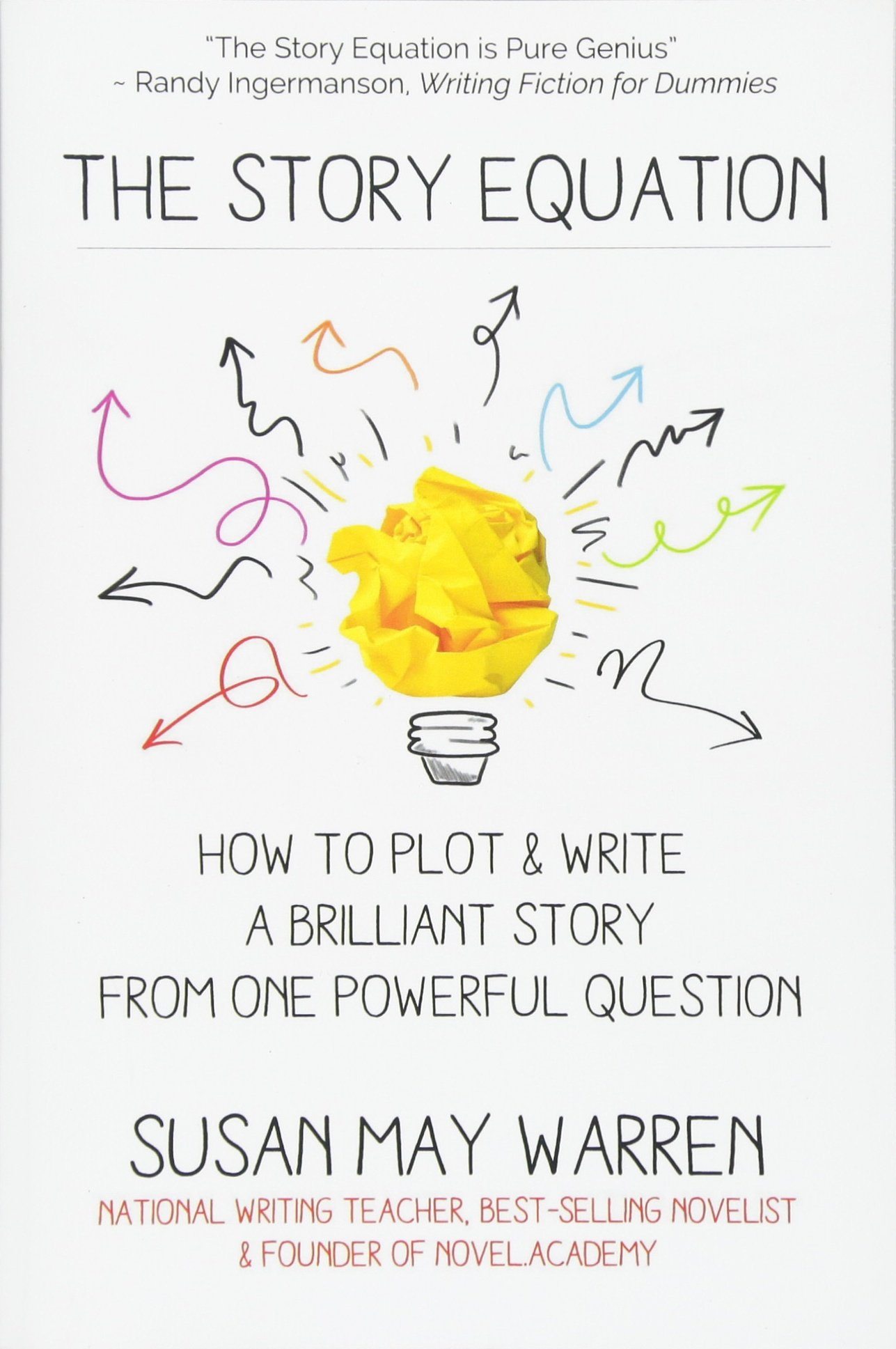 The Story Equation: How to Plot and Write a Brilliant Story with One Powerful Question (Brilliant Writer Series)