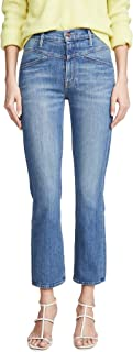 product image for MOTHER Women's The Dazzler Yoke Front Ankle Jeans