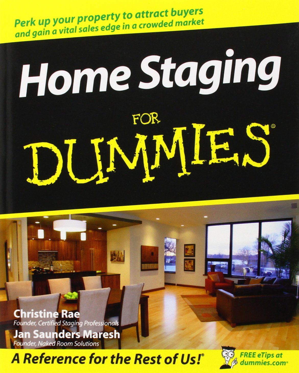 Home Staging For Dummies  Rae, Christine, Saunders Maresh, Jan ...
