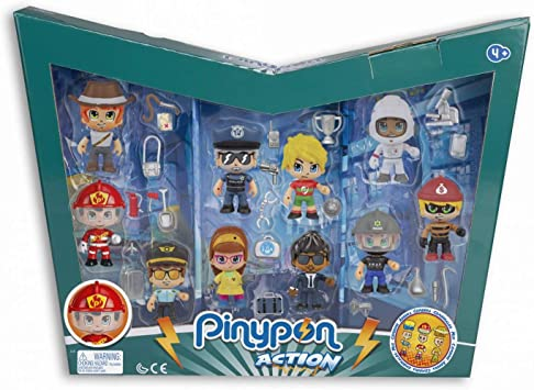 Famosa Pinypon Action - Pack 10 Figuras 700015433: Amazon.es: Juguetes y juegos