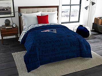 New England Patriots Full Comforter U0026 Sheet Set (5 Piece Bedding)