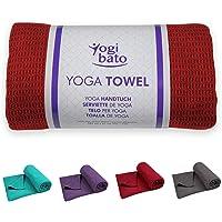 Yogibato Yogamathanddoeken anti-slip & sneldrogend - Yoga Handdoek non-slip - Microvezel Yoga Towel [183 x 61 cm]