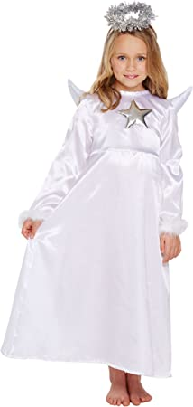 Henbrandt Disfraz de niño Angel Wit Fur Tamaño pequeño Edad 4 - 6 ...