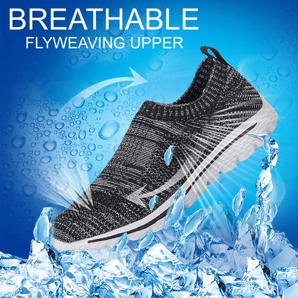 AGSDON Running Shoes Women- Lightweight Sport Shoe, Comfort Mesh Breathable Walking Athletic Sneakers