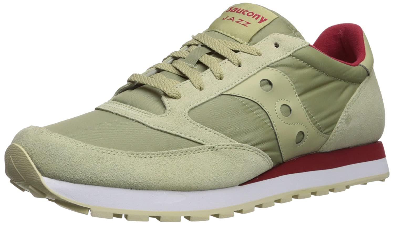 Saucony Jazz Original, Zapatillas 44.5 EU|Silver (Light Tan)