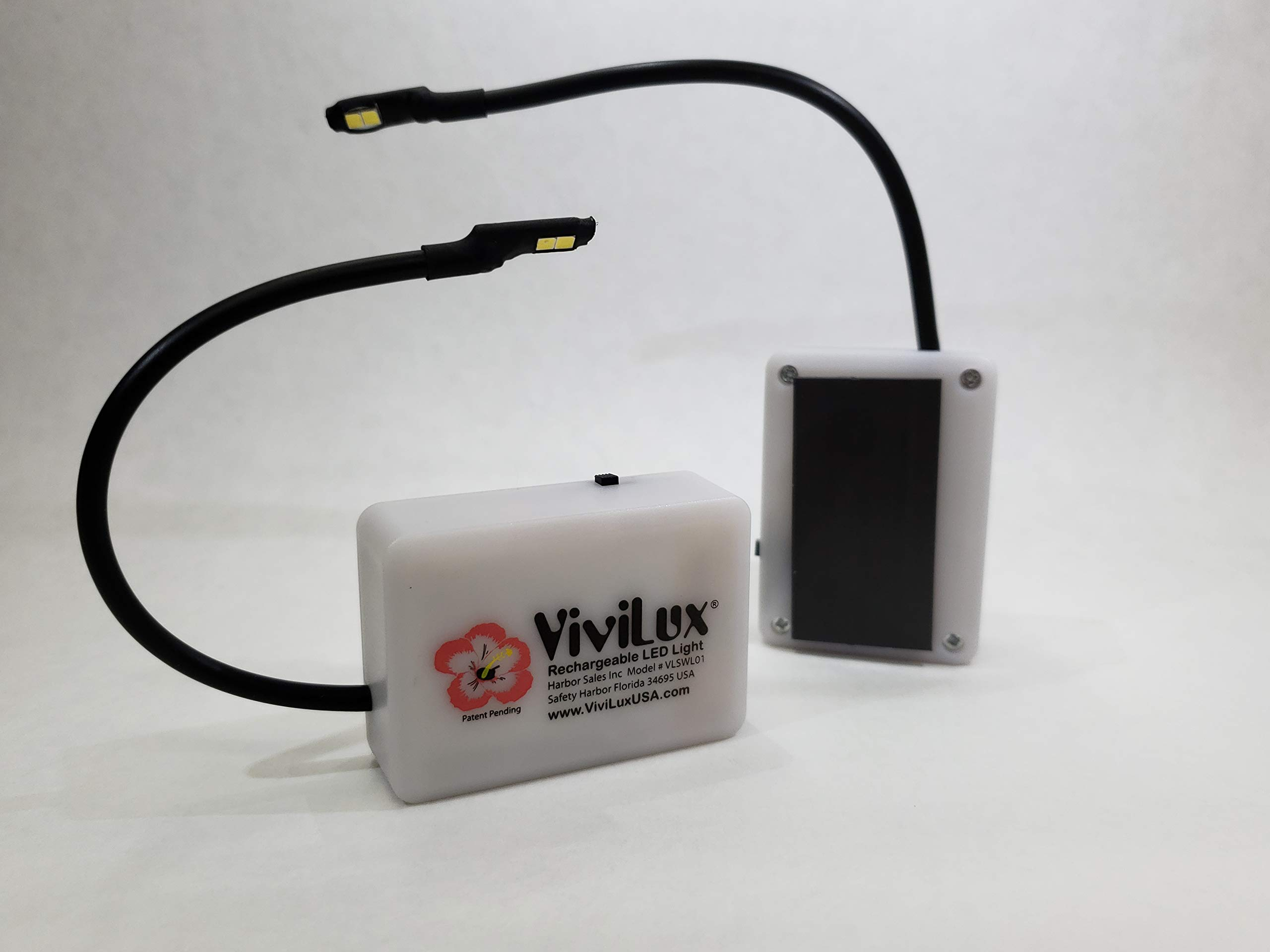 ViviLux Super Bright Flexible Craft Light for Quilting, Sewing, Crafts with Rechargeable Battery (Magnet) US Plug < 5 mW