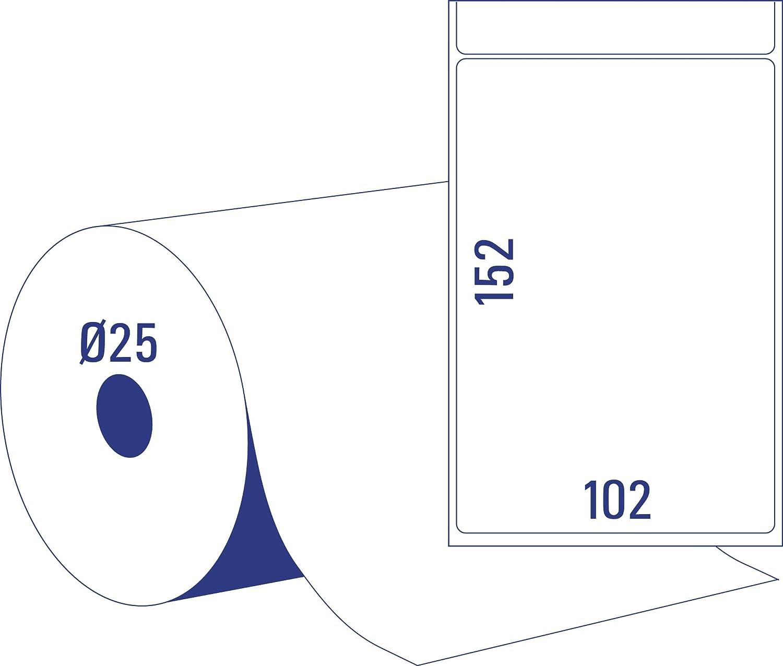AVERY Zweckform TD8050-25 Thermodirekt Versandetiketten (102 x 152 mm, mm, mm, 2 Rolle 950 Etiketten) weiß B073VGL8MX Universal-Aufkleber Wirtschaft cb2c7a