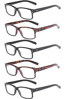 Eyekepper 4-pack Gafas sol de lectura rectangular con ...