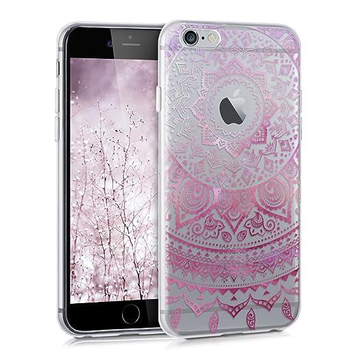 75 opinioni per kwmobile Cover per Apple iPhone 6 / 6S- Custodia in silicone TPU- Back case