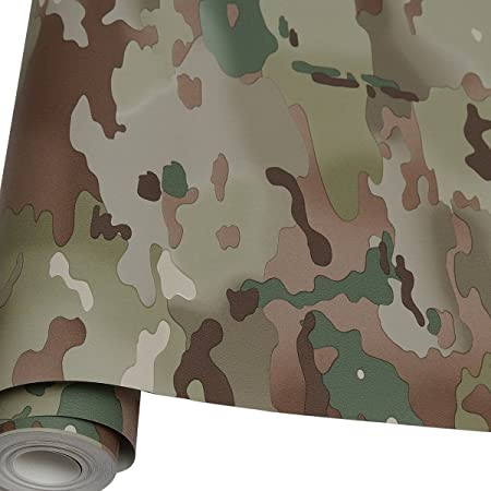 Ordinaire 2 X 10M Roll Of Army MTP Camouflage Wallpaper Multi Terrain Camo Kids  Bedroom BN