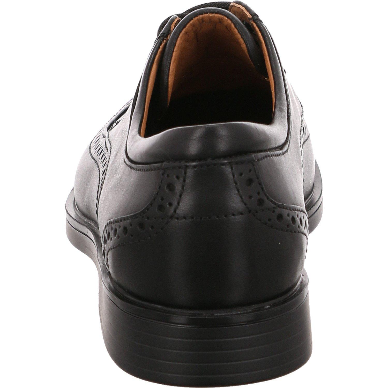 Clarks Herren Business Un schwarz Aldric Cap Herren Halbschuhe 261325978 schwarz Un 439679 60f667
