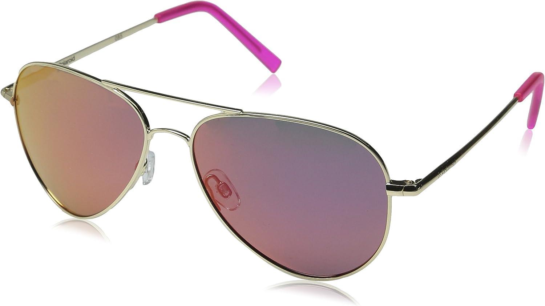 Polaroid PLD 6012/N AI J5G Gafas de sol, Dorado (Gold Pink Grey Speckled Pz), 56 Unisex Adulto
