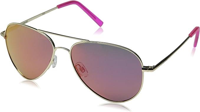 Polaroid PLD 6012/N AI J5G Gafas de sol, Dorado (Gold/Grey Pink Grey Speckled Pz), 56 Unisex Adulto