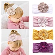 Accessories Kind-Hearted Baby Girl Sequins Design Bowknot Elastic Hats Turban Cap Cute Soft Infant Hair Accessories Indian Style H High Standard In Quality And Hygiene