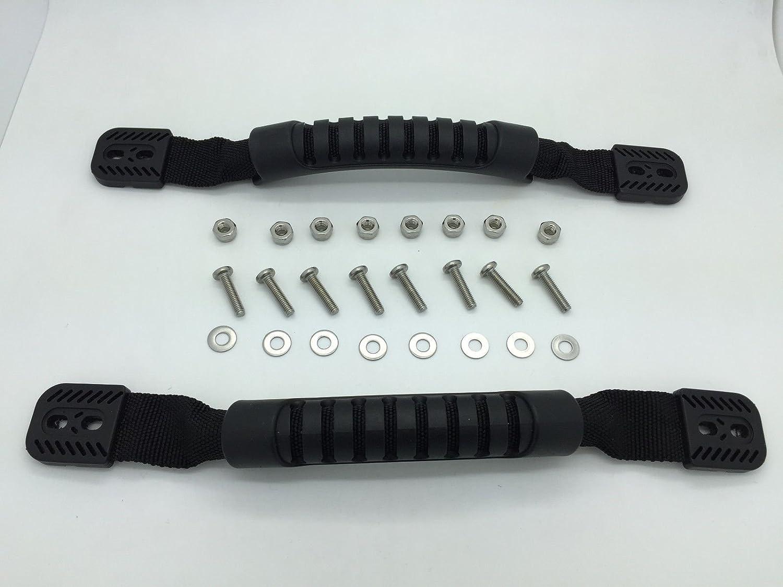 Details about耐久性ゴムハンドルfor製カヤック、カヌーや荷物のセット2 withハードウェア B00VMPFRZ0