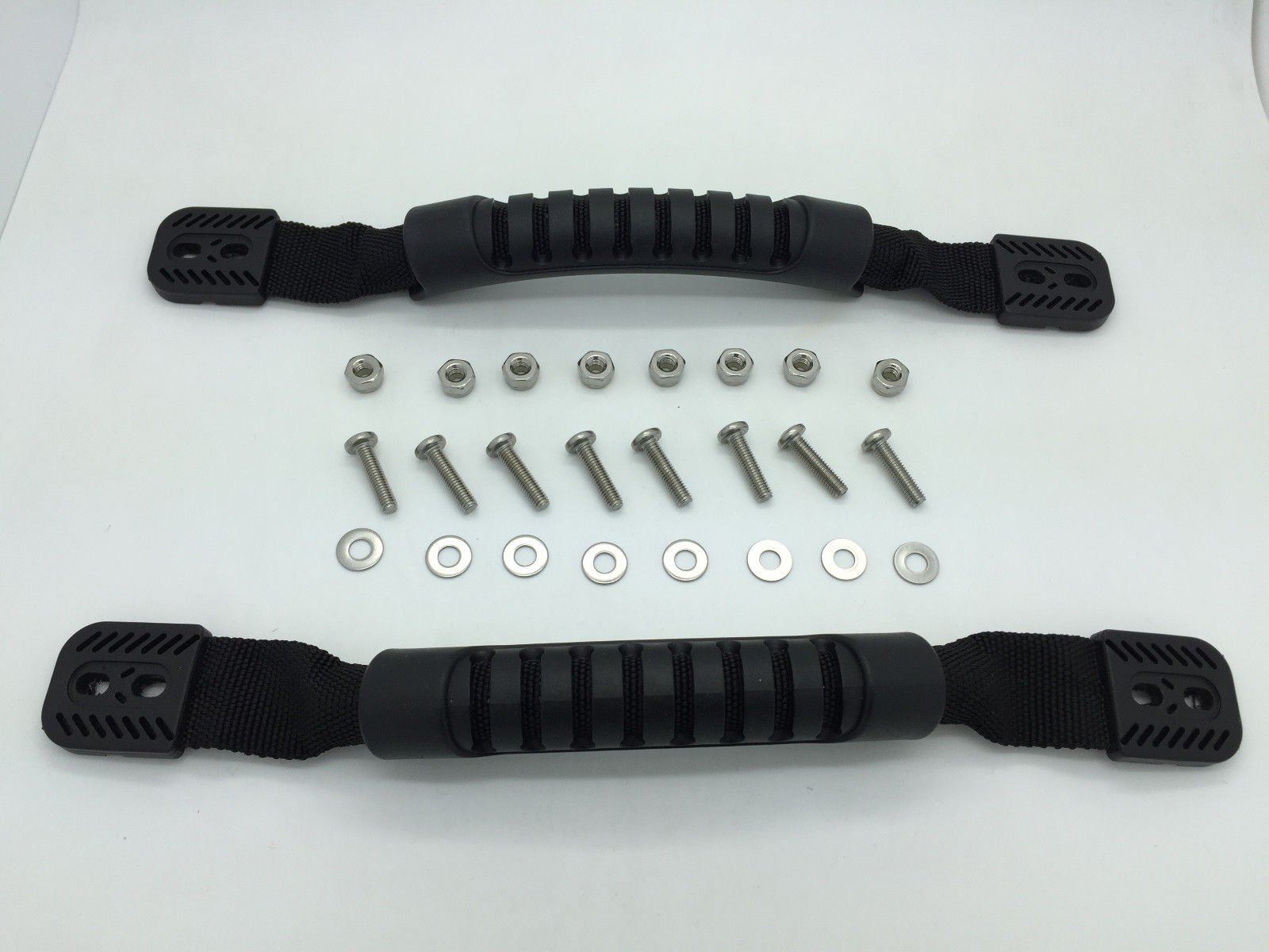 Details about DURABLE RUBBER HANDLES FOR KAYAK, CANOE OR LUGGAGE SET OF 2 WITH HARDWARE