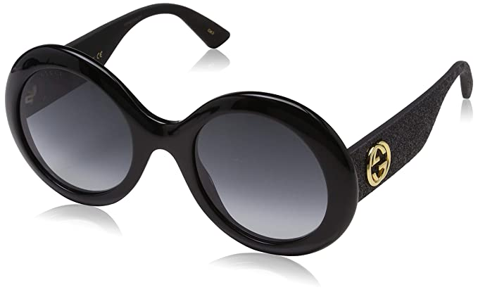 2aa9fafccaf Image Unavailable. Image not available for. Color  Sunglasses Gucci GG 0101  S- 001 BLACK GREY