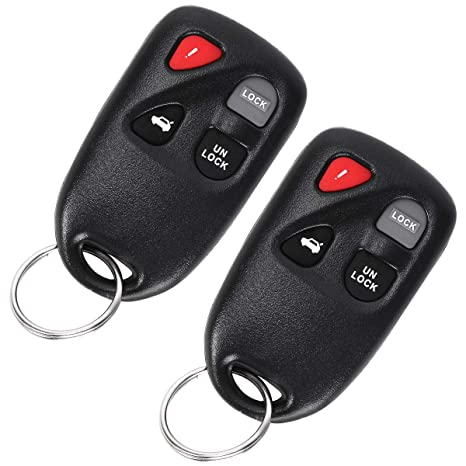 FCC ID: KPU41788, P//N: GP7A-67-5RYB OEM Electronic 4-Button Flip Key Fob Remote Compatible With Mazda