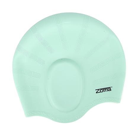 2ea5dfcecb6c Cuffia da piscina in silicone antistrappo, unisex, con protezioni  ergonomiche per le orecchie,