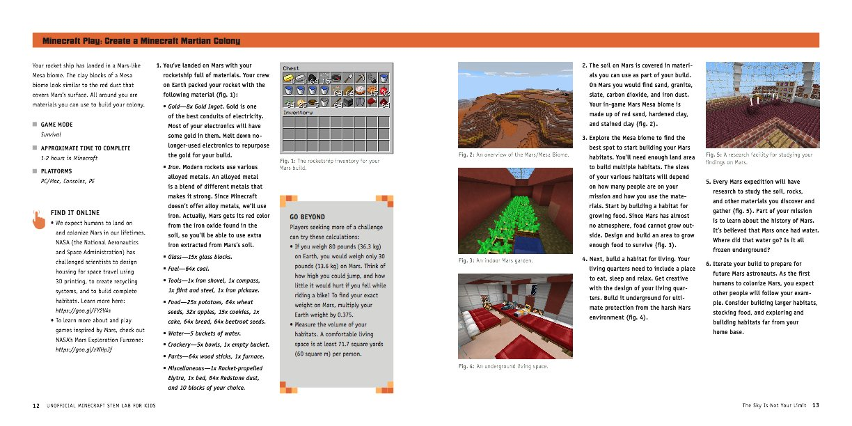 Unofficial Minecraft STEM Lab for Kids: Family-Friendly